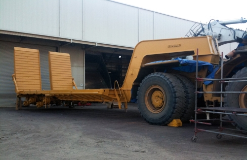 Large Machinery Trailers