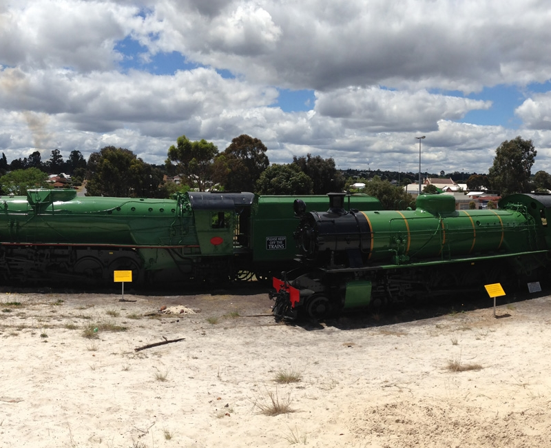 CBCS has also had the opportunity to refurbish historical trains and machinery.